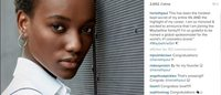 Herieth Paul is revealed as the newest face of Maybelline