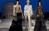 Fendi dazzles with new materials in Roman Forum