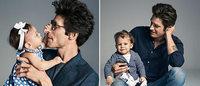 Campanha H&M para o Dia dos Pais traz bebês como protagonistas