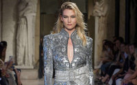 Logos and leopard print prowl through Peter Dundas' urban jungle