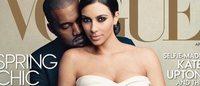 Ким Кардашьян украсила обложку американского Vogue
