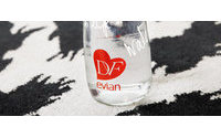 Diane von Furstenberg collaborates with Evian