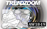 Trendzoom: Design Forecast Jewellery, Eyewear, Hats A/W 18/19