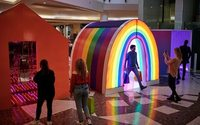 Intu pop-up uses colour to boost shoppers' moods and dwell time