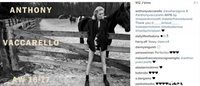First look at Eva Herzigova for Anthony Vaccarello
