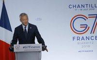 G7: passi avanti su web tax e tassa minima globale