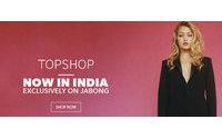 Topshop и Topman вышли на индийский онлайн-рынок через Jabong