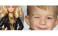 Moschino Barbie oyuncağının tanıtım filminde bir erkek çocuk oyuncu ile karşımıza çıkıyor