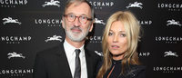 Longchamp and Kate Moss celebrate London flagship