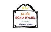 Sonia Rykiel : une allée parisienne va prendre le nom de la créatrice
