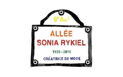 2149 - Sonia Rykiel : une allée parisienne va prendre le nom de la créatrice
