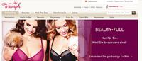 Triumph profitiert von Responsive Design Lösung für Onlineshop
