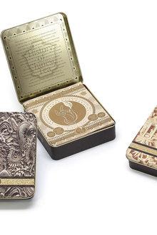A Taste Of China Design Around The Table  Alan Chan Creations Chinese Dragon Tin Tea Box