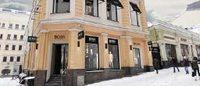 Hugo Boss открывает свой первый флагманский бутик в Москве