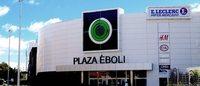 El centro comercial Plaza Éboli también cambia de propietario