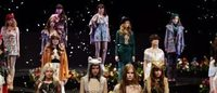 Tokyo Fashion Week opens with petal-strewn labyrinth runway