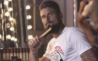 Olivier Giroud, nouveau visage de la marque Beardilizer