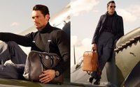 David Gandy links with Aspinal for retro-themed bags and accessories