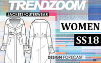 Trendzoom: Design Forecast Women Jackets/Outerwear S/S 18