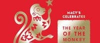 Macy's commemorates the Year of the Monkey and the Lunar New Year starting February 6
