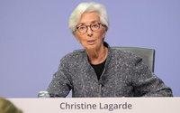 Lagarde vede caduta PIL Eurozona a metà strada fra 8% e 12%
