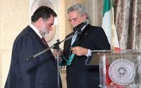 Михаил Куснирович получил орден «За заслуги перед Итальянской Республикой»