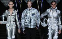 La Madonna astronauta sulle felpe di Frankie Morello