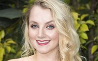 Actress Evanna Lynch teases beauty box project