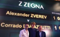 Z Zegna's new ambassador is tennis star Alexander Zverev