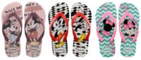 Mickey e Minnie em nova coleção estampam Havaianas