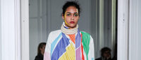 Bold, colourful prints kick off Paris Fashion Week