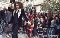 Dolce & Gabbana takes to the streets in new photojournalistic campaign