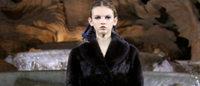 Fendi models walk on water in Rome's Trevi fountain