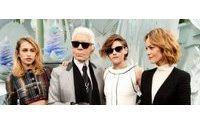 Vanessa Paradis, Alice Dellal et Kristen Stewart dans la prochaine campagne Chanel