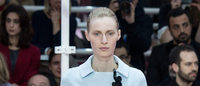 Paris fashion week delivers sad world escapism it craves