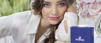 Миранда Керр снялась в новой рекламной кампании Swarovski