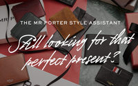 Mr Porter launches gift assistant with Facebook Messenger