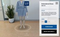 Gap is testing out an augmented reality app