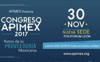 El Congreso APIMEX 2017 presentará los retos de la proveeduría en México