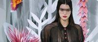 Alta-costura de Paris: Voilettes na Chanel e Giambattista Valli