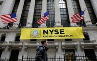 Snapchat-Aktie fällt unter Startpreis