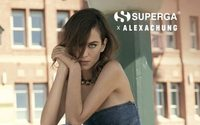 Alexa Chung returns to Superga for Spring 2018