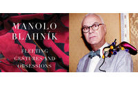 """Manolo Blahnik launches his book """"Fleeting Gestures and Obsessions"""" in Italy"""