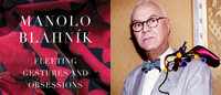 "Manolo Blahnik launches his book ""Fleeting Gestures and Obsessions"" in Italy"