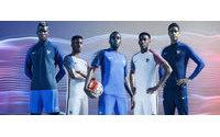 Nike présente les tenues de l'équipe de France de football
