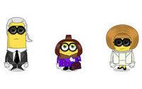 Los Minions se convierten en estrellas de la moda