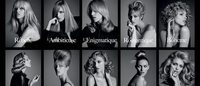 "Anja Rubik is face of Kérastase's ""Visions of Style II"""