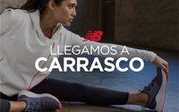 New Balance pone en marcha su quinta tienda en Uruguay