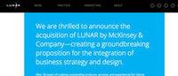 マッキンゼーがデザイン会社LUNARを買収 コンサル×デザインで新たなステップへ