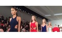 Ralph Lauren, CK pull in stars in NY fashion climax